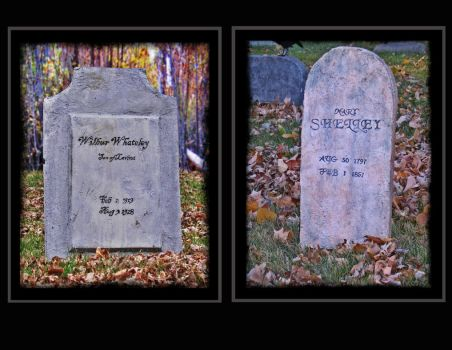 Whateley - Shelly Stones by atsouza