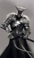 Knight-Sketch by Adrian-W