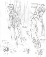 Evil Wheatley sketches by Inverted-Mind-Inc