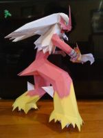 Blaziken Paper by Prife7