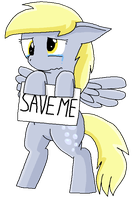 SAVE DERPY HOOVES by TeamRocketsPikachu