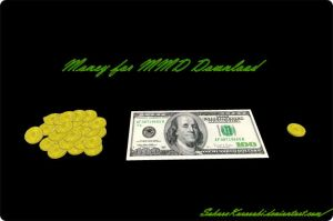 Money for MMD Download by SakuraKurosaki