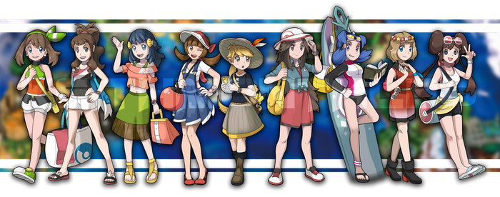 Alolan PokeGirls! by Ravenide