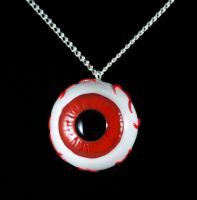 Evil Eye Necklace by NeverlandJewelry