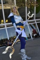 [Cosplay League of Legends] The lady of luminosity by AquaLeonhart