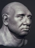 neandertal by polyphobia3d