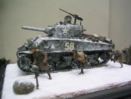 Battle of the bulge by Pkendarto
