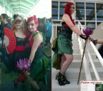 Burlesque Poison Ivy and Harley Quinn by CosplayGearHouse