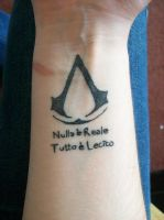 Assassins Creed 2 Tattoo by wintermute579