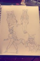Anthro Request Preview pt1 by Chauvels