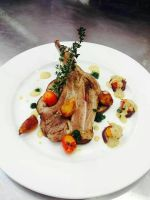 roasted lamb rack by HanaYean