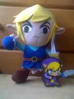 Perler Beads Link by JohnnyAre