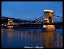 Chain Bridge, Budapest by hungarians