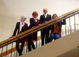 Staircase ~RWBY~ by TheDoorWithin