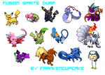 Sprite Dump oo1 :: Fusions by Frankencupcake