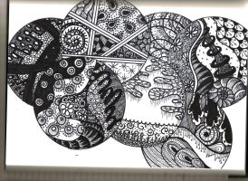 Zentangle 1 by SpicyMangoz