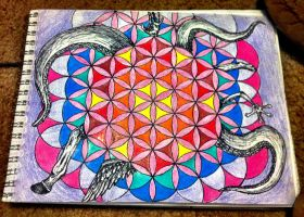 flower of life by zenmastahh