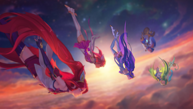 Star Guardians (Janna Focus) by W0LVEMAN