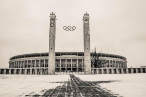 Olympia Stadion by Sudlice