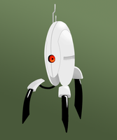 Aperture Science Sentry Turret by Corpse-Pirate