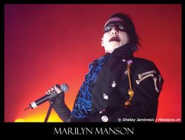 Marilyn Manson by metalpics