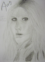 Avril Lavigne In Pencil by DoofusMaximus