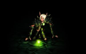 Blood elf female Rogue - t10 by Neroq