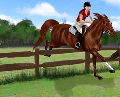 Entry for Foxhunting at MFS by GinasDream