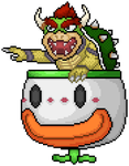 Bowser in Clown Copter by Ryanfrogger