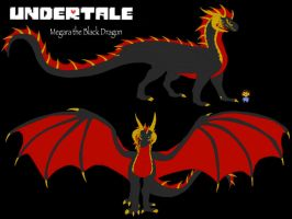 Undertale OC: Megadragon profile by BlackDragon-Studios