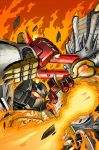 Max Dinobots 2 cover by MarceloMatere