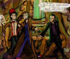 The Three Doctors by edikken