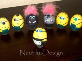 Minions! ^_^ by AquaMysteria
