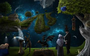 Garden of Mysteriousity by jesus-at-art