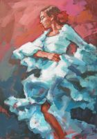 Flamenco 22-2008 by renatadomagalska