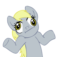 "Shrugpony ""Derpy Hooves"" by MoongazePonies"