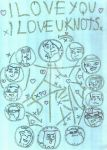 I Love You! I Love You Knots! Cover by ArtFan-Afr0canAsura