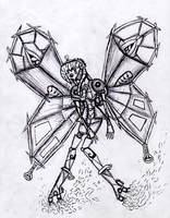 Steam Powered Butterfly by Mollykittykat