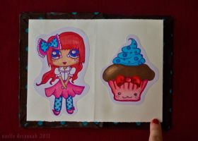 Chocolate Girls: pages 1 and 2 by uvita