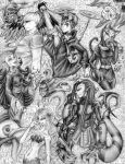 The Heylin in pencil by avi17 by Xiaolin-showdown