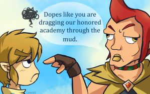 Skyward Sword: Dopes by Linkerbell