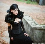 Jelena W. XI 2015. 20 (Black Queen) by ivoturk