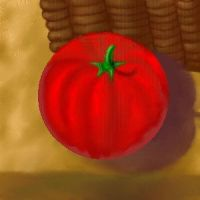 Still Life - Tomato and Basket by copperphoenix