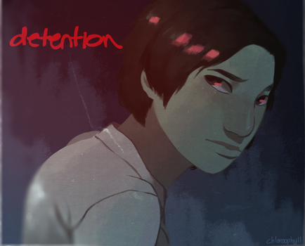 detention by chloroophyll