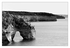 Pictured Rocks by Julian-Bunker