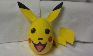 PIKACHU Easter Egg by KRSkreations