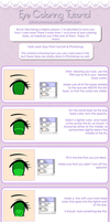 Eye Coloring Tutorial by Dibidibidis