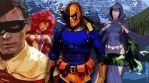 Slade Wilson and the Titans by ComicBookMind