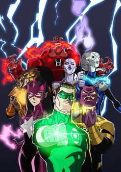 Green Lantern 53 by rymslm