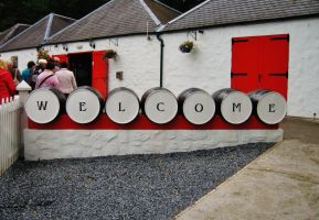 Edradour Distillery - 1 by PuzzledHeartBox